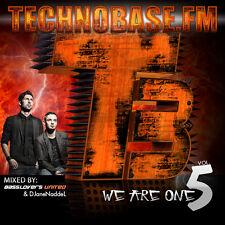 CD TechnoBase FM Clubinvasion Volume 5 di Various Artists 2CDs