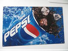 Original Pepsi Cola pop heavy steel store display advertising  mfg soda pop sign