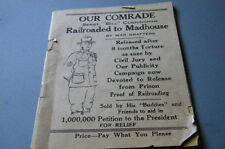 SERGT. WILLIAM CUNNNINGHAM RAILROAD TO MADHOUSE BOOKLET