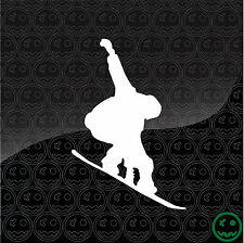 SnowBoard Sticker Decal Board Deck Ski Burton Car Liquid 130mm High Ride K2