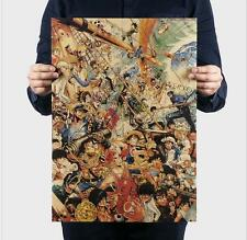 Japanese anime character collection / kraft paper poster / decorative painting