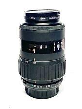 RARE! Objectif Zoom Télé SMC Pentax-F AF 70-210mm f/4-5,6 P/K Lens + UV Filter