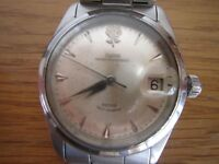ROLEX TUDOR PRINCE LARGE ROSE  MENS WATCH  GOOD WORKING ORDER 38MM
