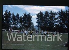 1970s Kodachrome Photo slide  Australia #7 Boys running Sunday School Picinic