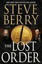 COTTON MALONE: THE LOST ORDER by Steve Berry * 2017 * HARDBOUND * DJ * FIRST ED