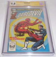 Daredevil #183 CGC SS Signature Autograph STAN LEE Punisher Appearance 9.8 Comic