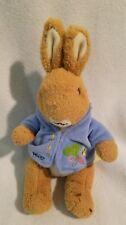 "Peter Rabbit Plush Stuffed Animal Original by Beatrix Potter 9"" Easter Bunny"