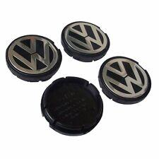 4Pcs Wheel center caps hub cap emblem Logo VW Golf Jetta Beetle 56mm 1J0601171