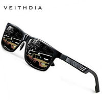 Aluminum HD Polarized Photochromic Sunglasses Men Sports Driving Outdoor Eyewear