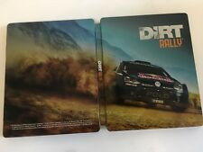 * DIRT RALLY * G2 Steel Book Case Only for PS4 PC Xbox One * NO GAME * Steelbook