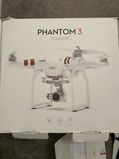 Used - DJI Phantom 3 Standard Quadcopter Camera Drone - White - Tested And Works