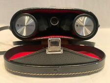 New listing Bell and Howell Vintage Binoculars 8x40 with rare black and red case used