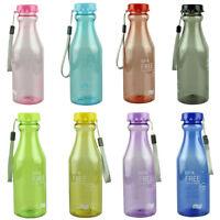 550ml BPA Unbreakable Ciclismo Botellas De Agua Deportivo Bicicleta Plástico
