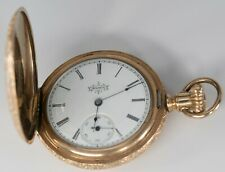 Pocket Watch Elgin Hunting Case