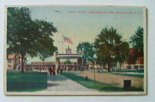 1919 Postcard The Band Stand Exposition Park Rochester New York #1198u