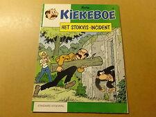 STRIP / KIEKEBOE 56: HET STOKVIS-INCIDENT   1ste druk