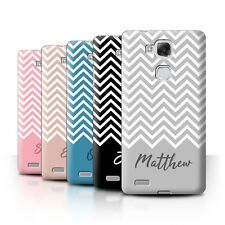 Personalised Custom Handwriting Chevron Stripes Case for Huawei Ascend Mate7