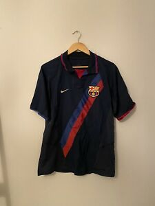 2002-04 Barcelona Away Shirt - Medium