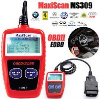 Car Fault Code Reader Engine Diagnostic Scanner Reset Tool OBD 2 CAN BUS EOBD UK