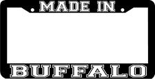 MADE IN BUFFALO NEW YORK NY License Plate Frame