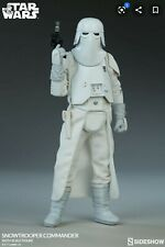Star wars Snowtrooper Commander Sideshow 1/6 Scale
