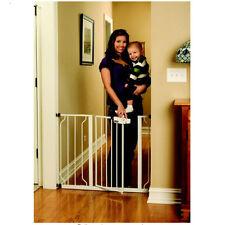New Easy Step Walk Thru Gate Regalo White Baby Pet Safety Child Toddler Doorway