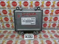 10 11 2011 CHEVROLET IMPALA ENGINE COMPUTER MODULE ECU ECM 12612397 AAKK OEM