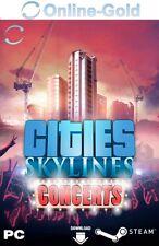 Cities Skylines - Concerts Key - STEAM PC Game Code CS DLC Addon Neu [PC][DE/EU]