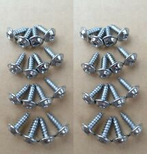 32 SHOW QUALITY WHEEL WELL MOLDING SCREWS! GM CAR/TRUCK GMC CADILLAC OLDS BUICK