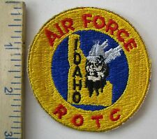 UNIVERSITY of IDAHO - ORIGINAL Vintage AIR FORCE ROTC SCHOOL PATCH