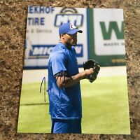 Jay Jackson Signed 8x10 Photo Chicago Cubs Milwaukee Brewers Autograph