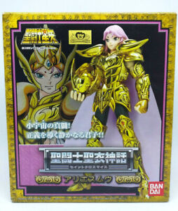 Bandai Saint Cloth Myth Gold Aries Mu Excellent Condition Version Japan