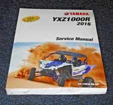 YAMAHA YXZ1000R, YXZ1000 OEM SHOP,SERVICE,MECHANIC REPAIR MANUAL,BOOK 2016