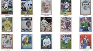 Leeds United Handsigniert Legende Aktion Bilder Mit COA - Individuell Preis