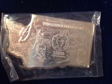 Rare 1971 Pioneer Mint Enterprises 2.08 Oz .999 Fine Silver Ingot - Washington