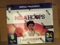 2020-21 Panini NBA Hoops Basketball Sealed RETAIL 24-Pack BOX