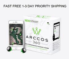 Arccos 360 Ultralight Live Shot Golf Tracking System GPS 2.0 Tour Analytics New