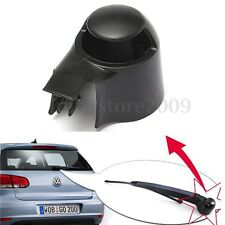 Black Rear Wiper Blade Cover Cap For VW MK5 Golf Polo Passat Caddy Tiguan Touran