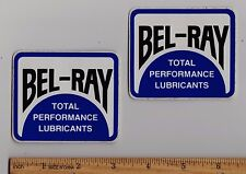 BEL-RAY Oil Vintage Motocross STICKER Motorcycle Enduro Husqvarna KTM Maico