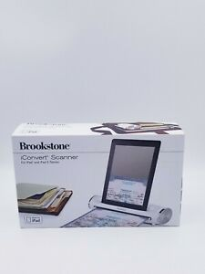 BROOKSTONE ICONVERT SCANNER IPAD 1 & 2  PHOTOS / DOCUMENTS