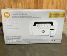HP LaserJet Pro M15W Smallest Wireless Laser Printer with Smart App (W2G51A)