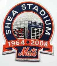 "Mets New York Mets Shea Stadium Closing jersey Sleeve MLB Logo Patch 4.25"" tall"