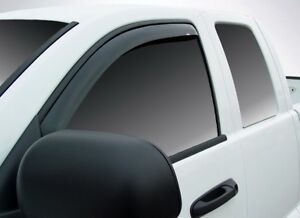 In-Channel Vent Visors for 1994 - 2004 GMC Sonoma Standard/Extended Cab