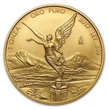 2017 Mexico 1 oz Gold Libertad BU - SKU#103080