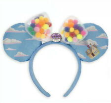 New Disney Parks UP Grape Soda Cap Balloons Minnie Ears Mickey Mouse Headband