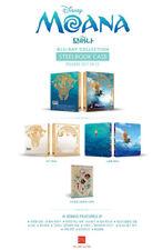 Moana (2 Disc Blu-ray) 3D+2D Combo STEELBOOK / PET Case, Craft Sticker/ Region A