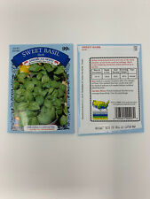 "Vegetable Seeds Gardening Planting "" Sweet Basil� Herb  American Seeds 1 Package"