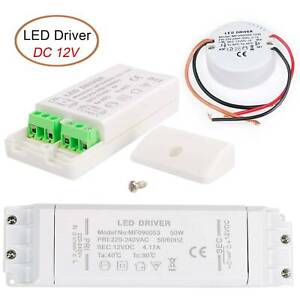 LED Trafo 12V 30W 50W 60W Netzteil Treiber Driver Transformator Für G4 MR16 MR11