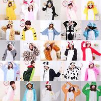 New Unisex Cosplay Adult Animal Kigurumi Pajamas Sleepwear Costume Dress Stock