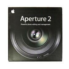 Apple Aperture 2 Photo Editing Software Mac Boxed